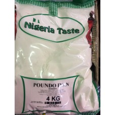 Poundo yam (Nigerian Taste)