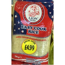Rice (Easy cook)
